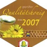 Qualitätshonig 2007